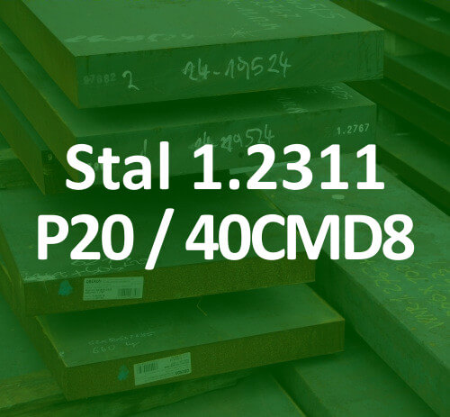 stal na formy 1.2311 40CMD8 P20 40CrMnMo7 40HMT mould tool steel