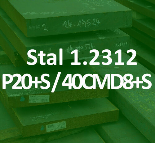 stal na formy 1.2312 40CMD8S 40CrMnMoS8-6 mould tool steel