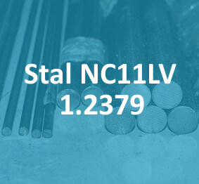 stal do pracy na zimno NC11LV 1.2379 stahl cold work tool steel