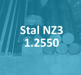 stal do pracy na zimno NZ3 1.2550 stahl cold work tool steel