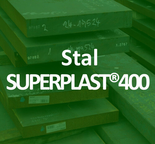 stal na formy Superplast400 mould tool steel